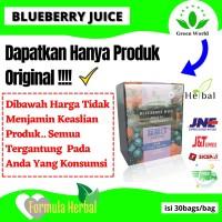 Jual blueberry juice green world