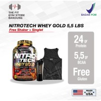 Muscletech Nitrotech Whey Gold 5,5 Lbs Nitro Tech Whey Gold 5.5 Lba