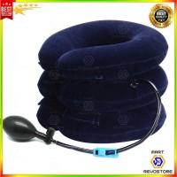 Bantal Penyangga Leher Pompa Udara Headreast 3 Lapis Air Massage Pilow