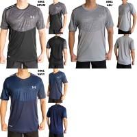Kaos Olah Raga Cowok 6961 Baju Training Pria Lari Fitness Gym Futsal