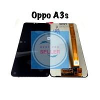 Lcd Touchscreen Oppo A3S A5 REALME C1 REALME 2 Original Terlaris new - Hitam