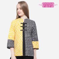 Baju Blouse Atasan Batik Wanita Modern Nona Rara, Mixmatch YB T0065