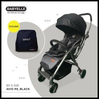 #New : Stroller Kereta Bayi Babyelle Avio Rs 939 - Navy Str081