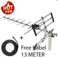 Antena TV super jernih sanex 889DG antena luar outdor digital analog