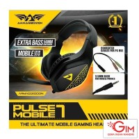 Headset Gaming Armageddon Pulse 7 Mobile Phone
