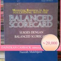Buku ORI balanced scorecad sukses dengan balance scorecard