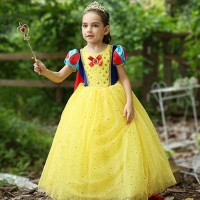 Snow White Terbaru Princess Kostum Impor Dress Baju Pesta Ulang - 120