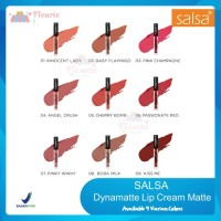 SALSA Dynamatte Lip Cream Lipcream Original BPOM - 02 BabyFlamingo