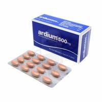 ARDIUM 500 MG BOX 60 TABLET