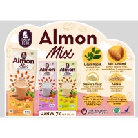MamaBear Susu Almon Mix Isi 6 sachet x 30 gram