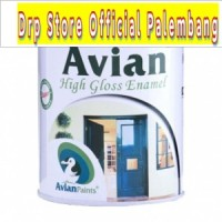 CAT MINYAK AVIAN SUPER BLACK DOFF/MATTE 1 KG