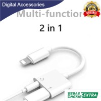 Adapter Lightning to AUX 3.5mm Headphone Lightning for iPhone 7/8/X