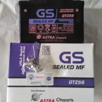 Aki Motor Honda Megapro new Verza 150 GS ASTRA GTZ5S MF ORIGINAL