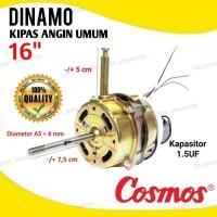 MOTOR DINAMO KIPAS ANGIN COSMOS 16''