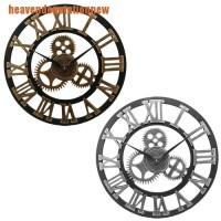 Hdid Jam Dinding Desain Roda Gigi Gaya Industrial Retro Untuk