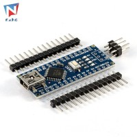ORI Exhg Modul Header Mikro USB Nano V3 ATmega328 CH340G untuk Arduino