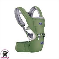 BABYSAFE Baby Hip Seat New Born to Toddler Gendongan Bayi - Green