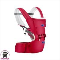 BABYSAFE Baby Hip Seat New Born to Toddler Gendongan Bayi - Red