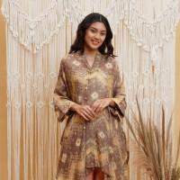 Fahima Ftr Fajar T0827, Baju Atasan Batik Wanita Modern - All Size