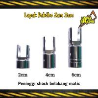 Peninggi shock belakang matic panjang 2cm 4cm 6cm