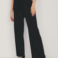 HANA Knitted Pants - Black