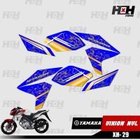 Sticker Striping Variasi New Vixion Lightning NVL 2013 2014 Desain 29
