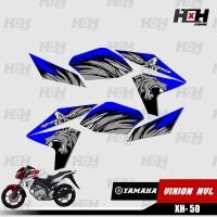 Sticker Striping Variasi New Vixion Lightning NVL 2013 2014 Desain 50