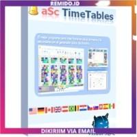 ASC Timetables 2020 9.1 - Membuat Pembagian Tugas Jadwal Mengajar