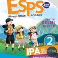 Buku SD ESPS IPA untuk SD dan MI kelas 2 NB