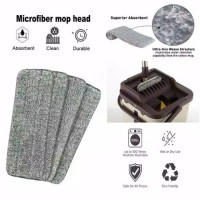 Bolde Refill Super Mop X Kain Pel Microfiber Supermop Isi Ulang MOP