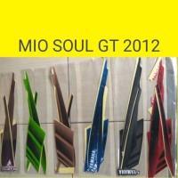 sticker / striping / lis motor mio soul gt 2012 original lokal