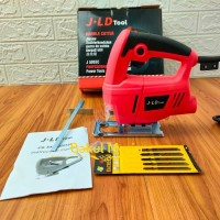 mesin gergaji kayu besi jigsaw jig saw JLD J5055C variable speed