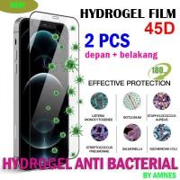 anti gores XIAOMI REDMI 3 3S hydrogel anti bakteri anti kuman - depan belakang