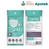 THANKFUL 4P EARLOOP DAILY FACE MASK 5'S