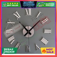 TERLARIS Jam Dinding Raksasa DIY Giant Wall Clock 30-60cm Diameter