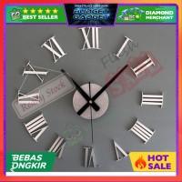 TERLARIS Jam Dinding Besar Raksasa DIY Giant Clock 30-60cm Diameter EL