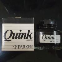 Parker Quink Tinta Fountain Pen 57 ml warna hitam ASLI