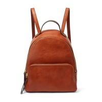 Fossil Felicity Backpack Leather Brown - SHB2107-213 - Tas Wanita