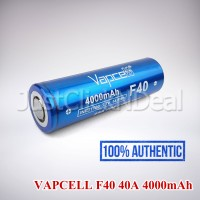 Baterai 21700 VAPCELL F40 40A 4000mAh Authentic
