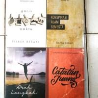 Paket 4 Novel Fiersa Besari Garis Waktu - Konspirasi - Juang - Arah