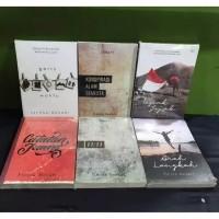 Paket 6 Novel Fiersa Besari - Garis Waktu - Konspirasi - Arah - Juang