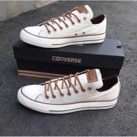 Sepatu converse peached premium warna putih berdineshoe