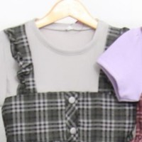 ( 3 - 10 TAHUN ) BAJU DRESS TUNIK FASHION ANAK PEREMPUAN - ZR525