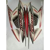 stiker striping yamaha mio j sporty 2013 hitam merah