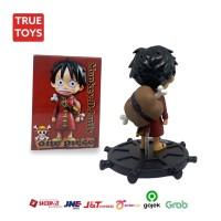 Figure Luffy one piece PVC padat Luffy NiKu   mode B #TRUE TOYS