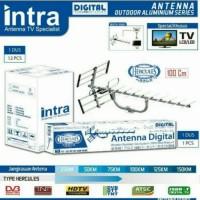 INTRA Antena TV Outdoor Digital INT LCD LED Antenna Luar