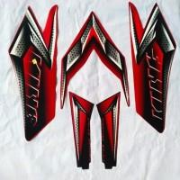 stiker striping lis les polet body rx king 2008 merah peredam