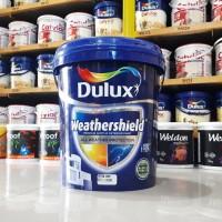 Cat Tembok Dulux Weathershield 20 Liter - Brilliant White