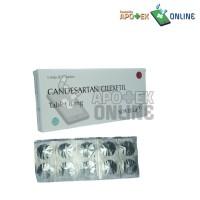 CANDESARTAN 8 MG 1 Strip 10 Tablet