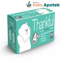 THANKFUL 4P EARLOOP DAILY KIDS FACE MASK 30`S